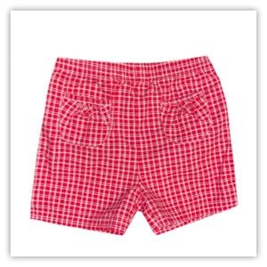Faded Glory Toddler Girl Plaid Shorts